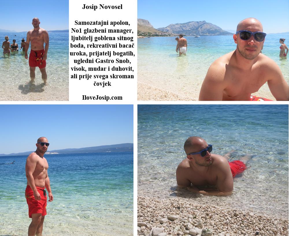 Apolon na plaži Foto: Mala sirena