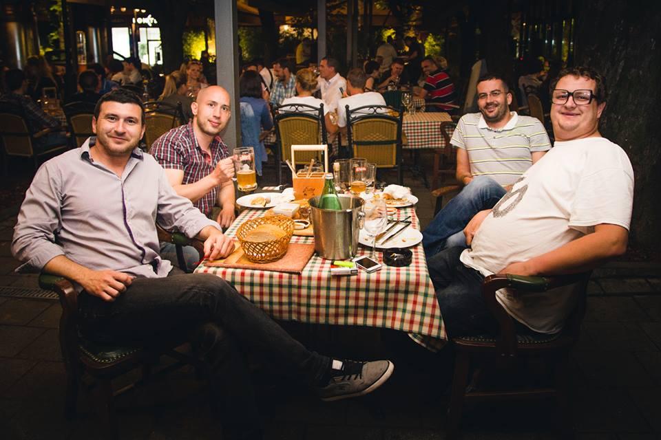 Marin, Otac Leontije, Jobulacije Doda i Magistar Đorđević Izvor: Pivana/Facbeook