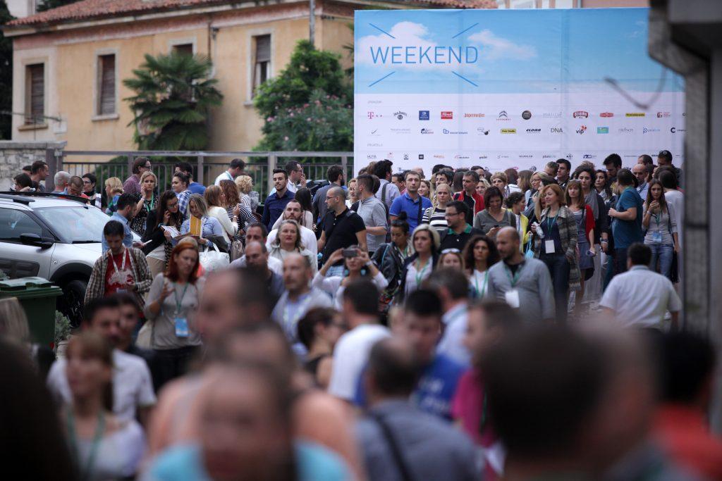 18.09.2014., Rovinj - Atmosfera na Weekend Media Festivalu 2014. Photo: Grgur Zucko/PIXSELL