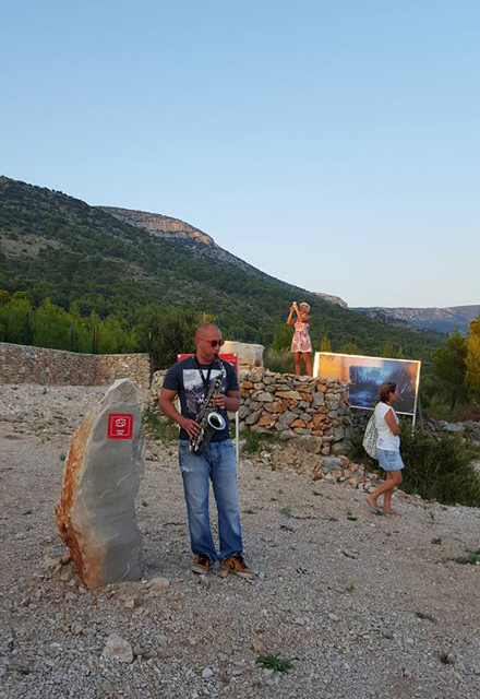 Megalitni park - Bol - Brač, Foto: Ivana