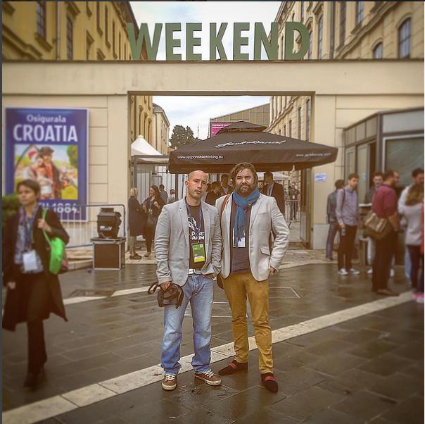 Adfrap team on Weekend Media Festival