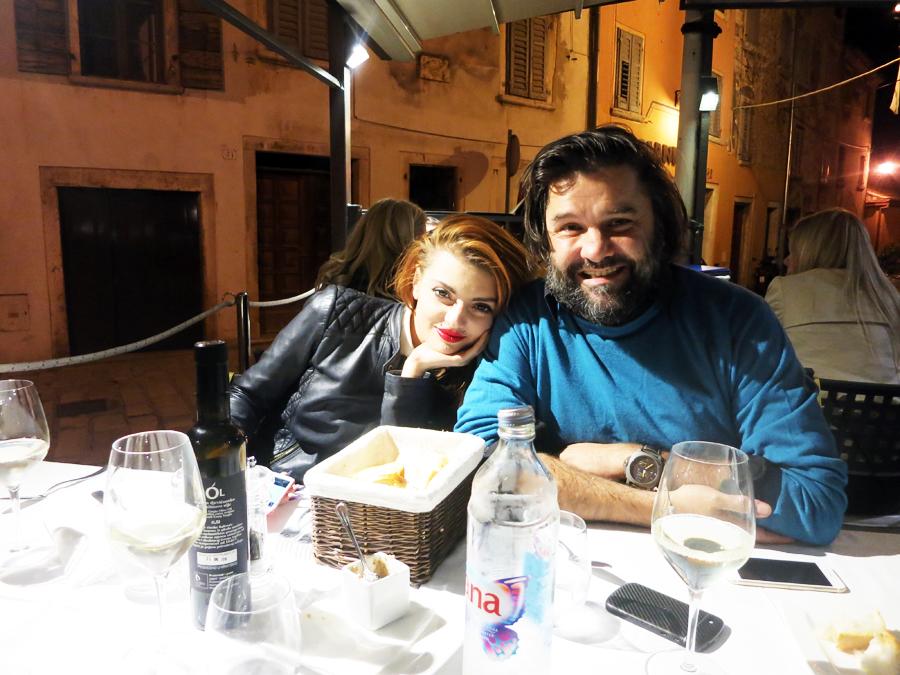 Ella i Charles - restoran Gianino - Rovinj Foto: Josip Novosel, Flash.hr