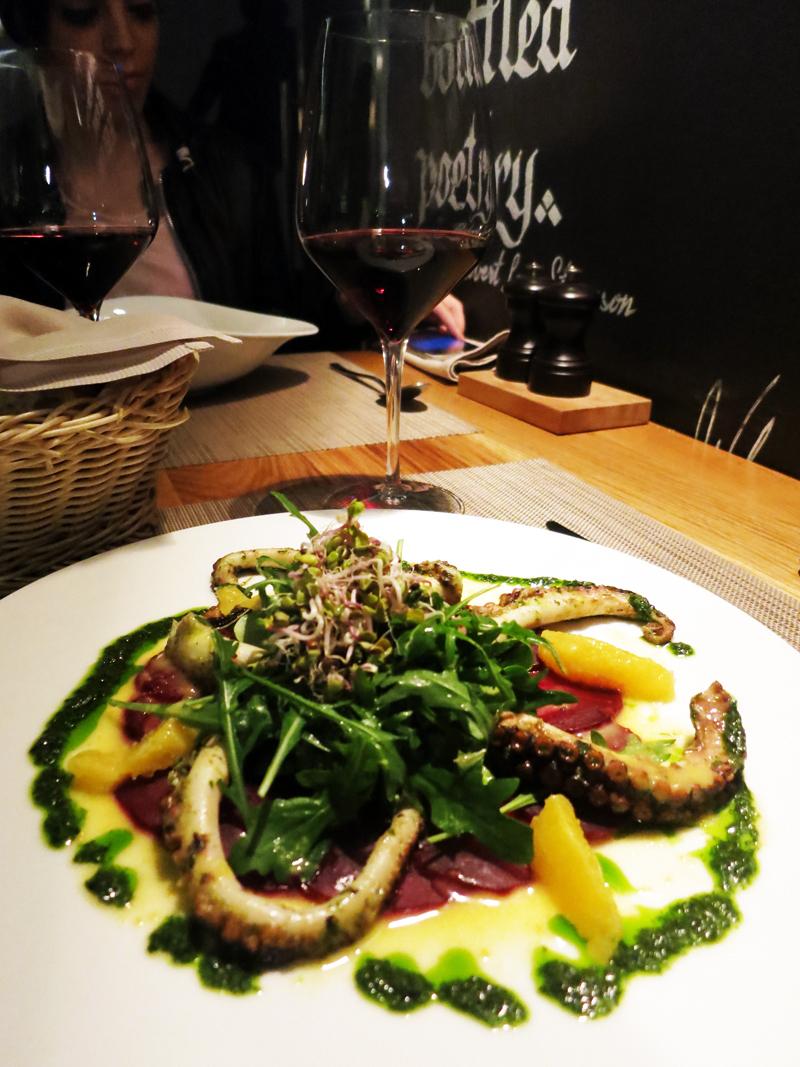 Bistro šnicl - Salata od hobotnice Foto: Josip Novosel, Flash.hr
