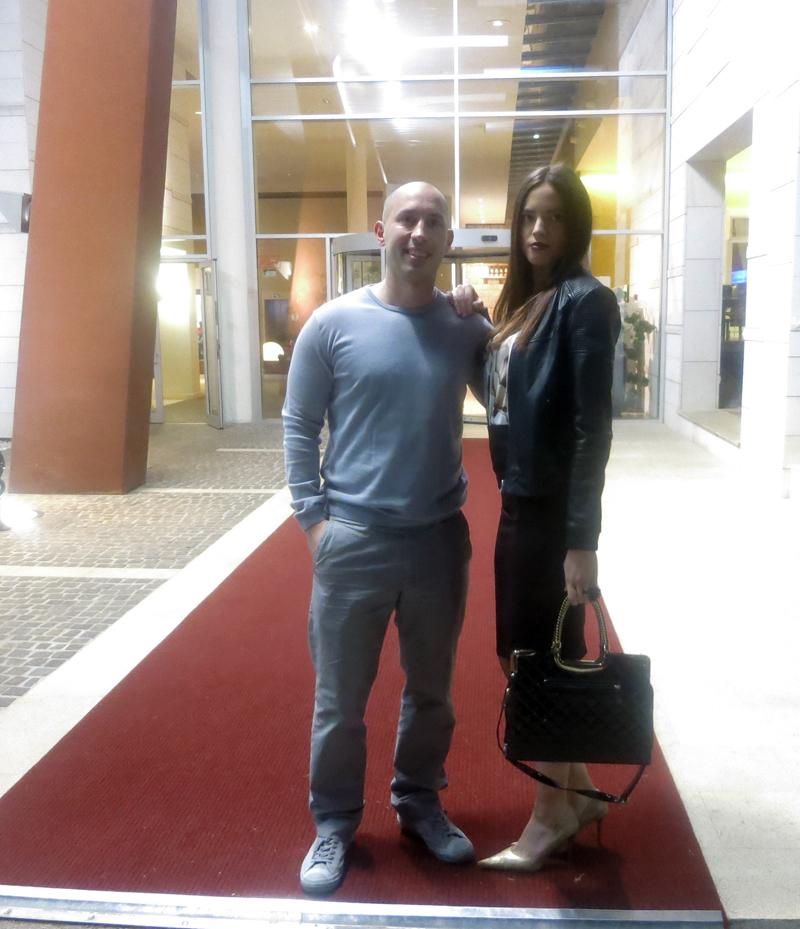Gastro Snob aka Dragi Vođa i Irena na crvenom tepihu hotela SOL GARDEN ISTRA Foto: Flash.hr