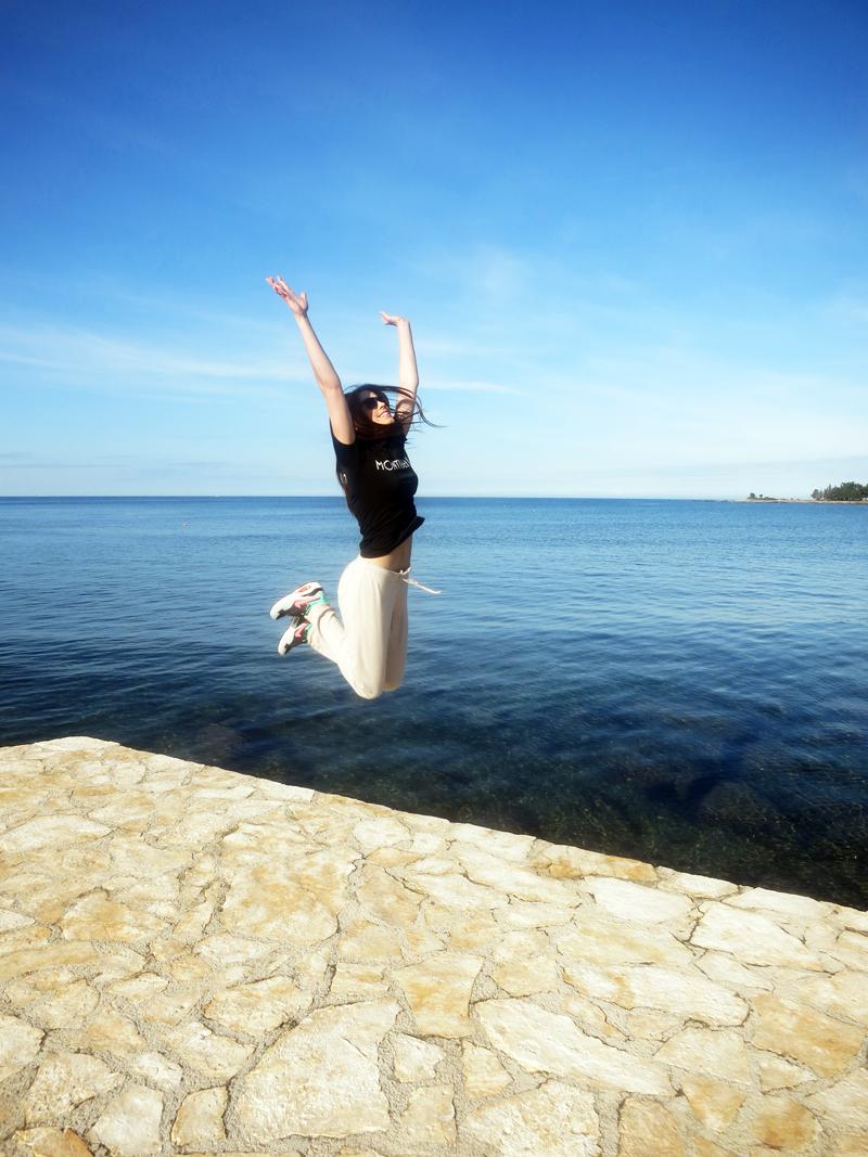 Ovako to izgleda kad netko iz Stupnika prvi put vidi more:) Foto: Josip Novosel, Flash.hr