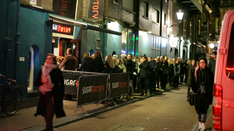 Sugarfactory Amsterdam - promocija albuma/koncert grupe Luminize Tražila se karta više tu večer:) Foto: Robert Schmidt
