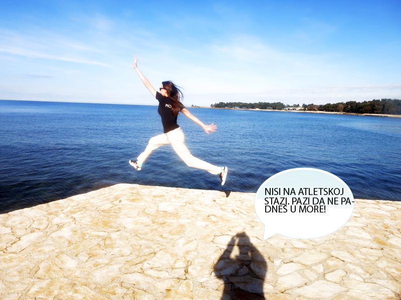 Irena se malo previše zanjela. Uzalud sam ju upozoravao da stane. Foto: Josip Novosel, Flash.hr