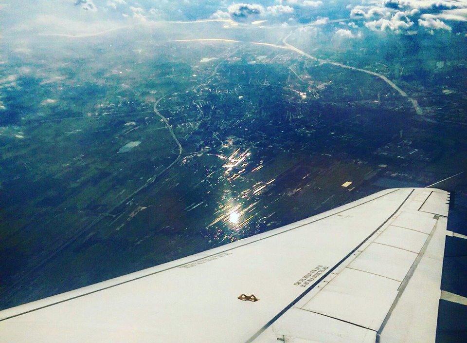 Pogled iz aviona Croatie Airlines Foto: Josip Novosel, Flash.hr
