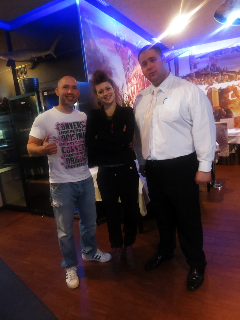 Josip Novosel aka Gastro Snob, Dajana i Jasminko Foto: Flash.hr