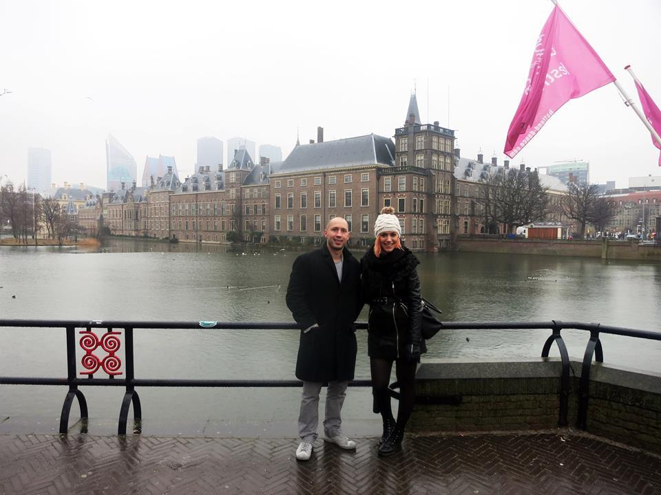 Josip Novosel i Matilda Oroši Foto: Flash.hr
