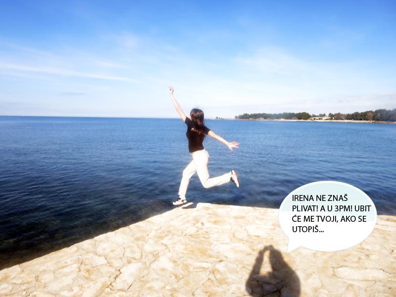 Kasno se sjetila da ne zna plivati. Prije pada sam čuo njezine posljednje riječi: JA LEEEETIM! Foto: Josip Novosel, Flash.hr