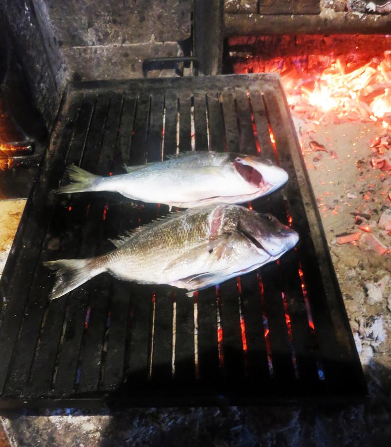 Riba na gradelama u konobi Astarea Foto: Josip Novosel, Flash.hr