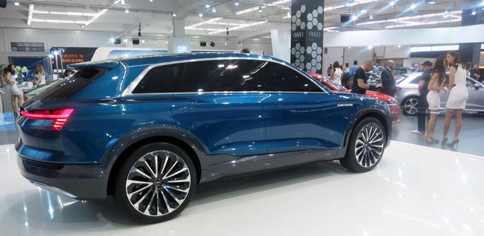 Audi e-tron quattro Foto: Josip Novosel, Flash.hr