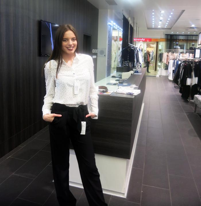 Boutique Bandolera - Hlaće i košulja Model: Irena Jakičić Foto: Josip Novosel, Flash.hr