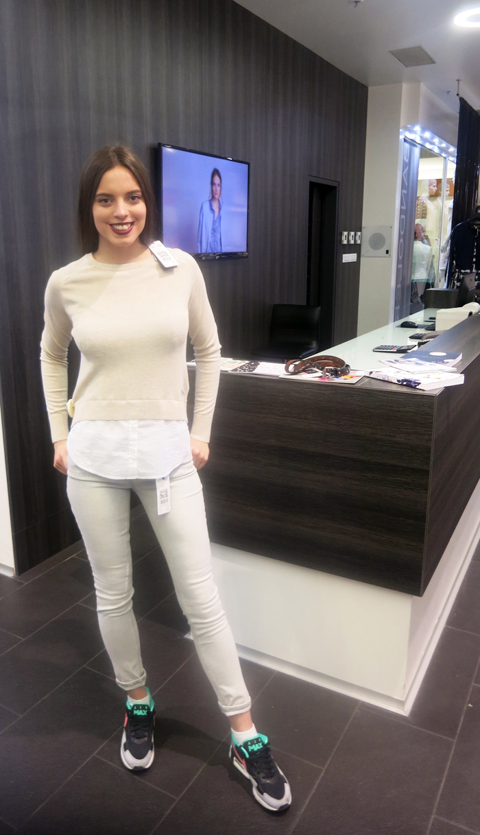 Boutique Bandolera - Traperice i vesta Model: Irena Jakičić Foto: Josip Novosel, Flash.hr