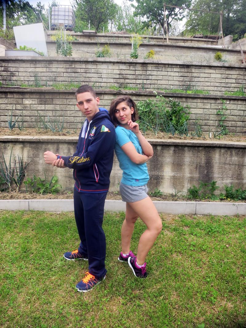 Buraz ima Kappa tenisice, trenirku i hudicu, a seka Kappa majicu i tenisice Foto: Josip Novosel, Flash.hr