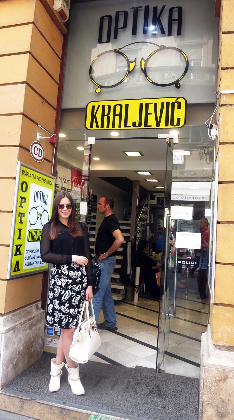 Irena ispred optike Kraljević Varšavska 1 Foto: Josip Novosel, Flash.hr