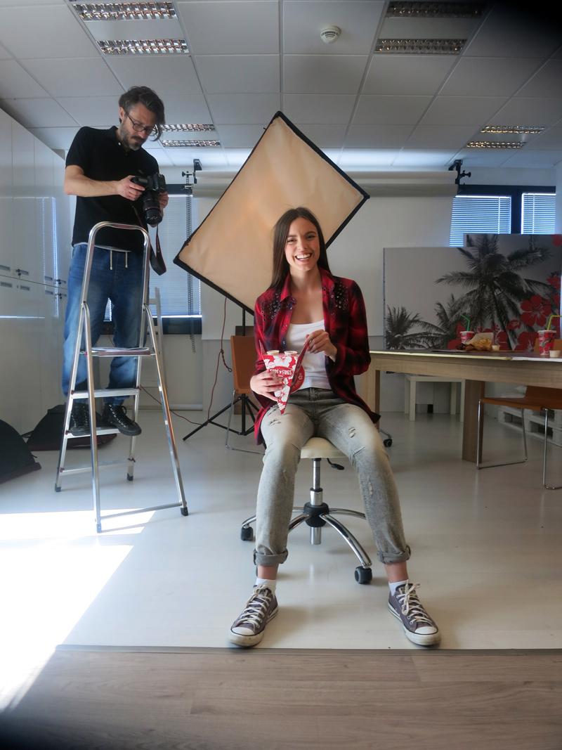 Irena Jakičić - Surf 'n'n Fries reklamna kampanja Foto: Josip Novosel, Flash.hr