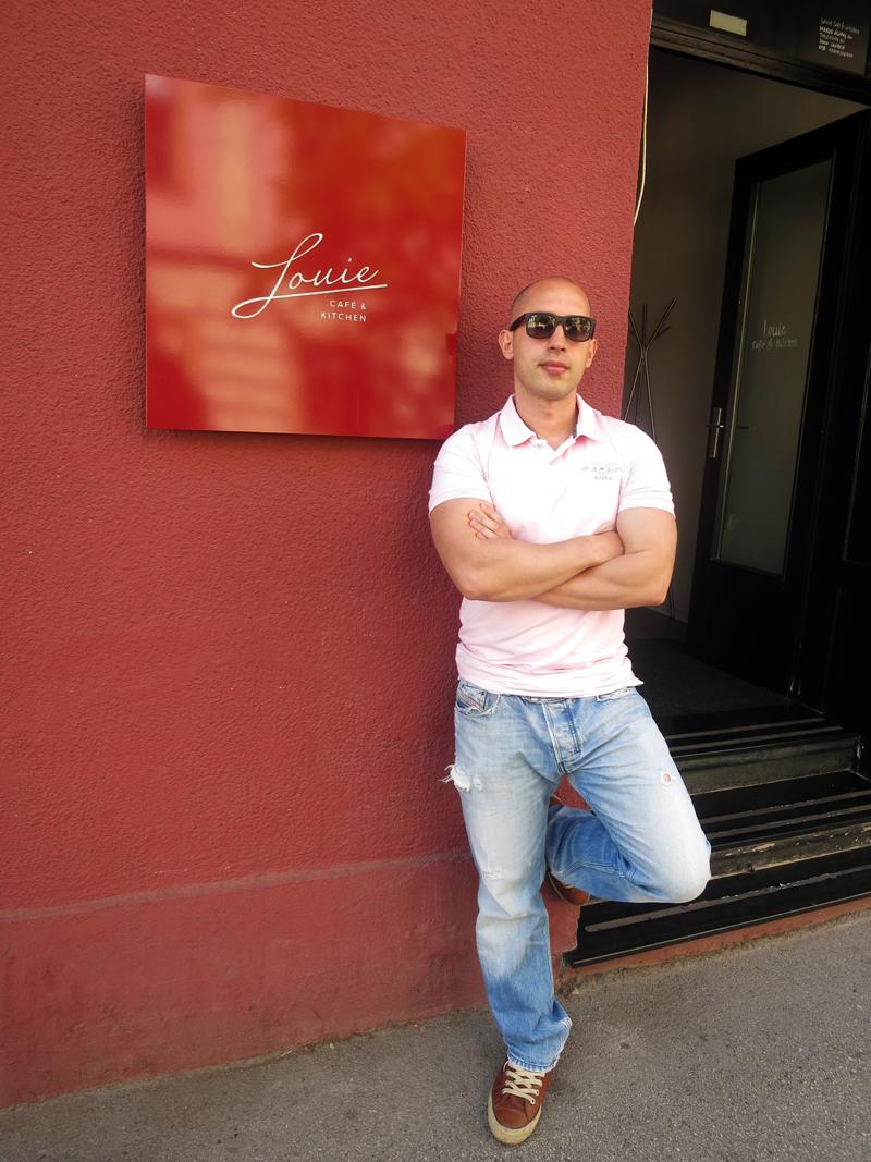 Josip Novosel aka Gastro Snob za prijatelje Jole Krasnići (vođa albanske mafije) Foto: Irena Jakičić, Flash.hr