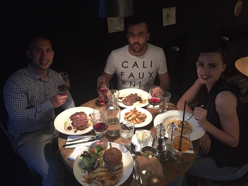 Louie Cafe & Kitchen Josip, Krešo i Irena Foto: Kristina Uvodić, Flash.hr
