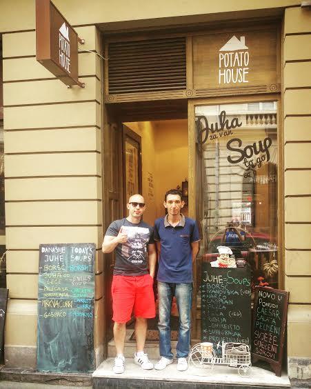 Potato House Josip Novosel aka Gastro Snob i Tomo J. Foto: Irena Jakičić, Flash.hr