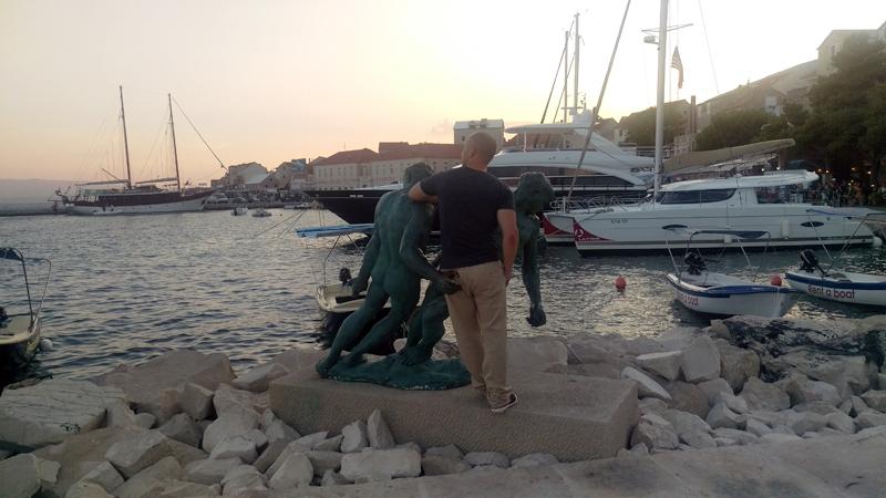 Uvijek treba naći vremena za jednu pravu gay fotku. (Sad vidiš zašto ne poziram) Foto: Irena Jakičić, Flash.hr