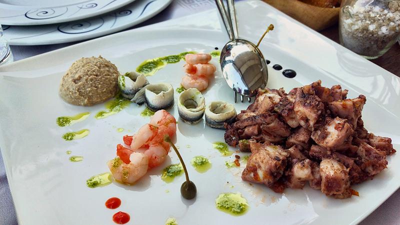 Restoran Vusio - Bol na Braču - salata od hobotnice Foto: Josip Novosel, Flash.hr