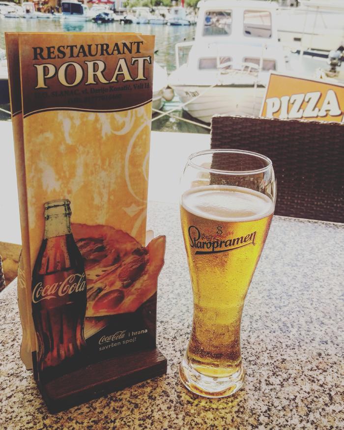 Pizzeria PORAT - Staropramen piva foto: Josip Novosel, Flash.hr