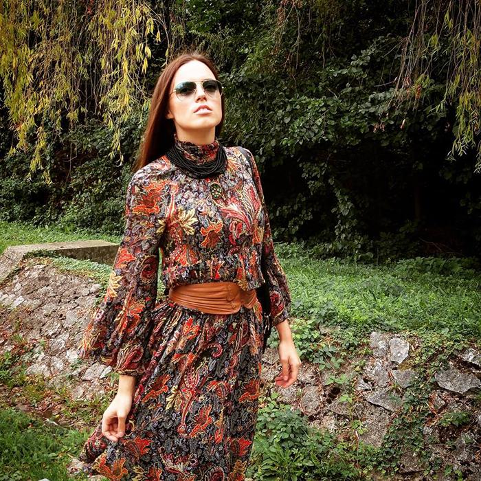 Model: Irena Jakičić Ogrlica: Jasminka Škalić Foto: Josip Novosel, Flash.hr