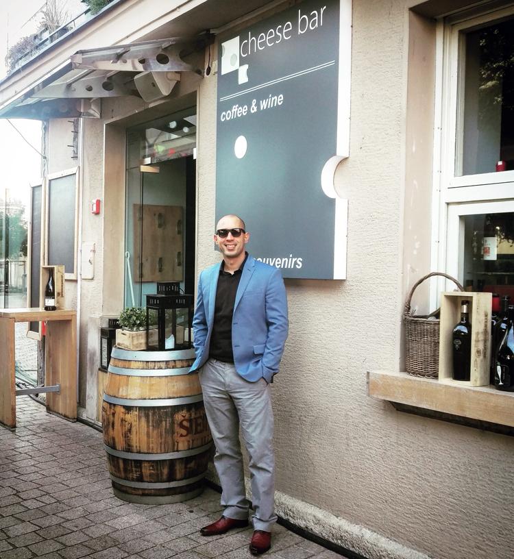 Josip Novosel aka Gastro Snob u Chesse baru Foto: Flash.hr