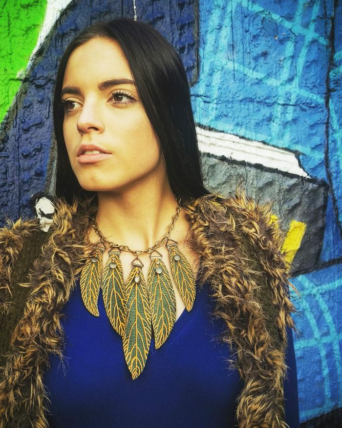 Irena Jakičić - Re Leaf Me ogrlica Foto: Josip Novosel, Flash.hr