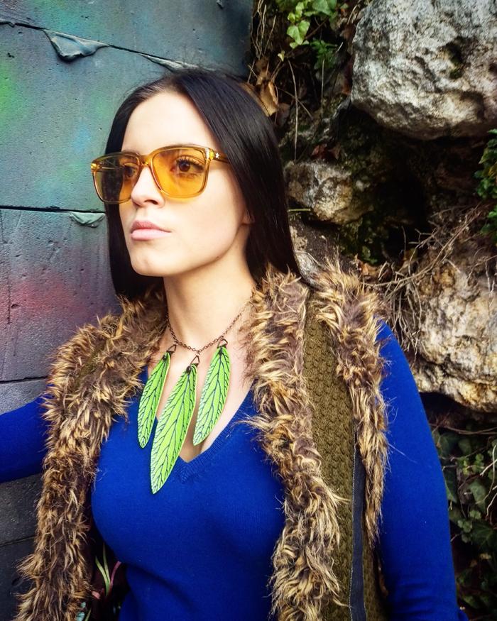 rena Jakičić - Re Leaf Me ogrlica Foto: Josip Novosel, Flash.hr
