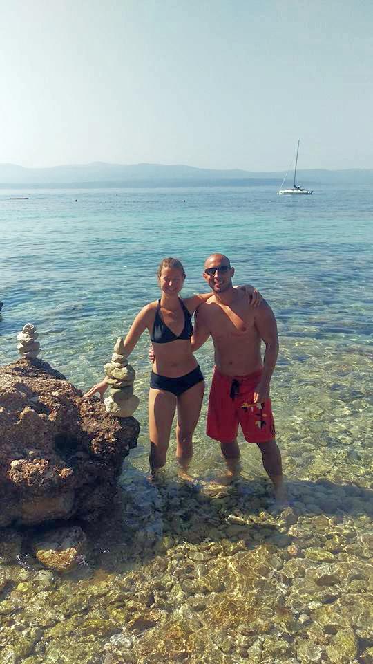 Bol na Braču Evelin i Josip Foto: Flash.hr