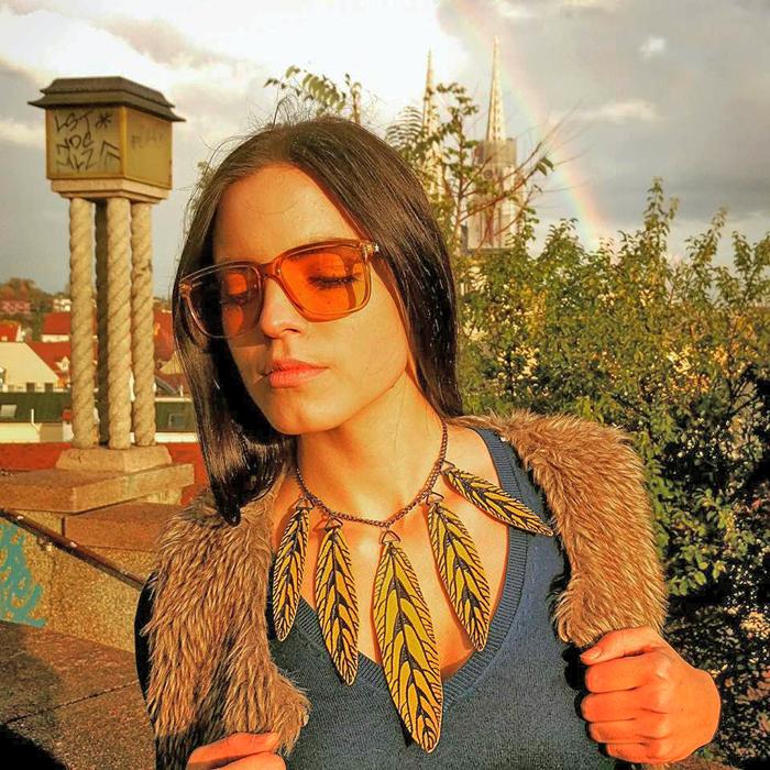 Irena Jakičić - Re Leaf Me naušnice Foto: Josip Novosel, Flash.hr