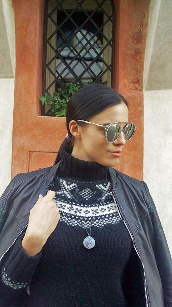 Treviso - Irena Jakičić - Re Leaf me ogrlica, Crna udovica Foto: Josip Novosel, Flash.hr