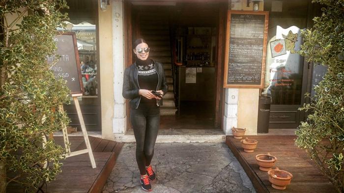 Art travel - Treviso -Trattoria San Tomaso Irena Jakičić Foto: Josip Novosel, Flash.hr