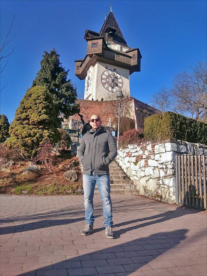 Josip Novosel aka Dragi vođa - Graz Foto: Soraya, Flash.hr