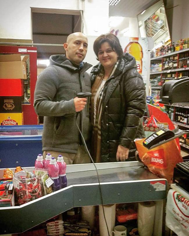 Josip Novosel aka Gastro Snob i Željka Fanjek aka Blagajnica Foto: Blagajnica Renata, Flash.hr