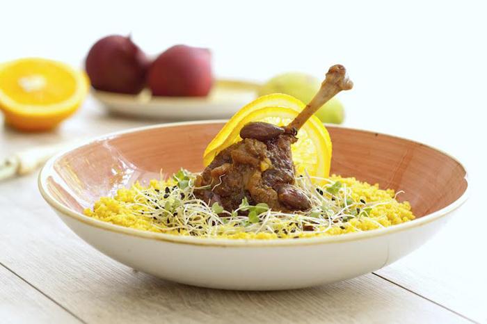 Restoran Voncimer Pirjana patka na marokanski način Foto: Voncimer