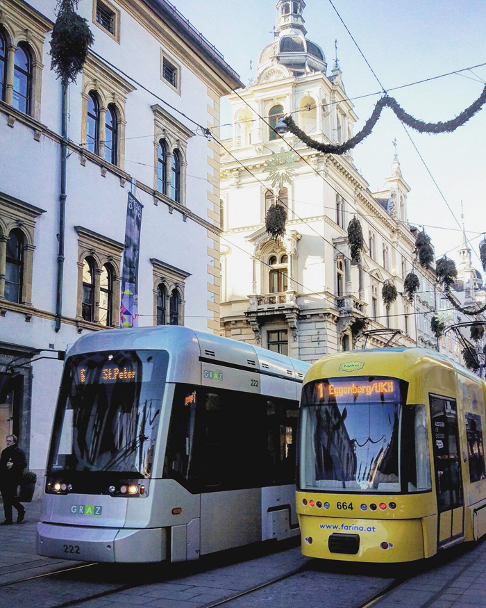 Tramvaji - Graz Foto: Josip Novosel, Flash.hr