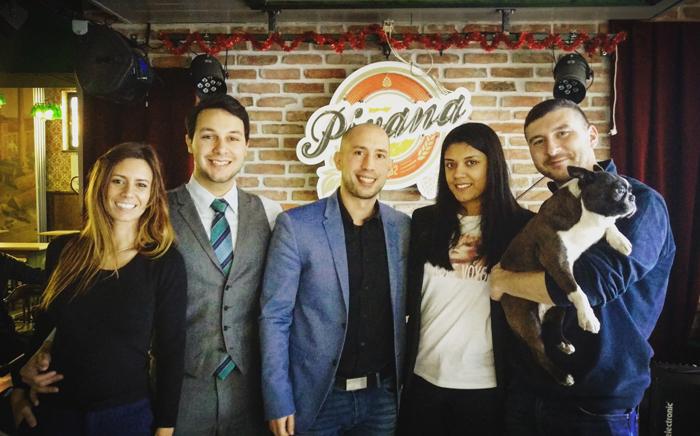 Mafija iz Pivane Laia Escobar, Baby face Oscar, Joca Amsterdam, Soraya Katran i Marin Lefty Foto: Flash.hr