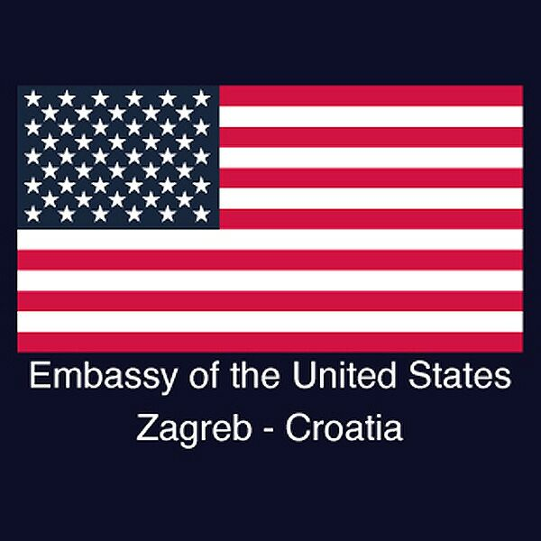 USA embassy Zagreb