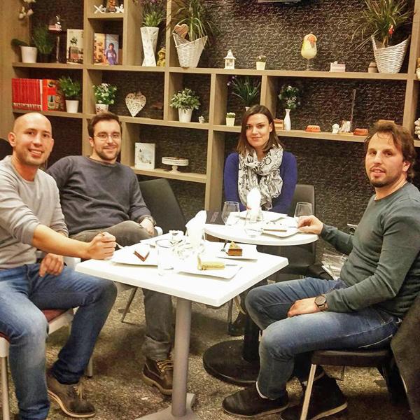 Dessert House slastičarnica Gastro Snob, Neven, Petra i Vedran Foto: Flash.hr