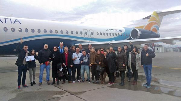 Tečaj oslobađanja straha od letenja Foker 100, Air Trade Foto: Josip Novosel, Flash.hr