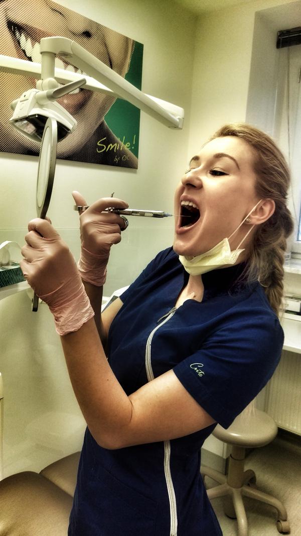 Esthetic Dental Center - Silvija - Samo bum se malo piknula da izgledam k'o Ava Karabatić foto: Josip Novosel, Flash.hr