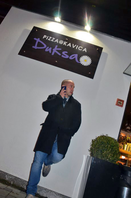 Pizzeria Duksa - Josip Novosel aka Gastro Snob Foto: Raya Jenn, Flash.hr
