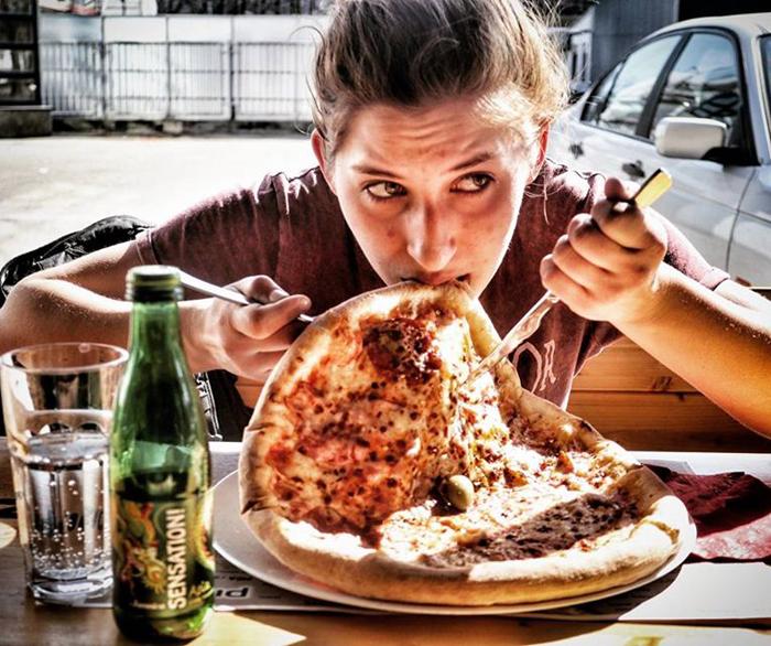 Pizz'up - Helena Novosel i čučerske manire za stolom Foto: Josip Novosel, Flash.hr
