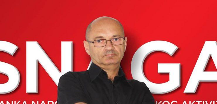 Goran Aleksić pozvao birače da podrže MOST!