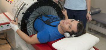 Mario Petreković na fizikalnoj terapiji u specijalnoj bolnici Arithera