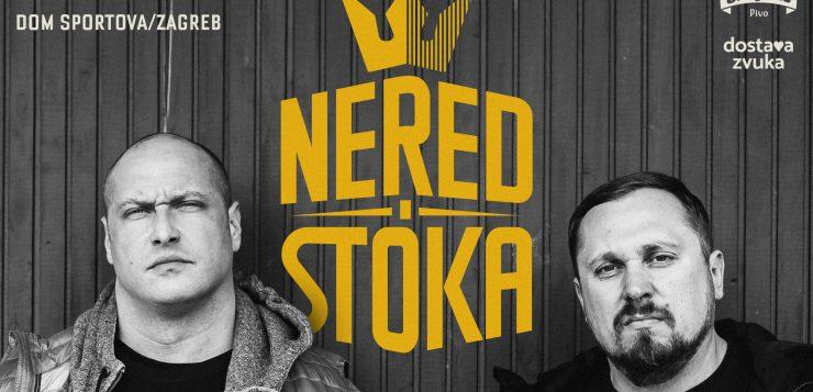 NERED I STOKA U DOMU SPORTOVA U SUBOTU, 6. LISTOPADA 2018.